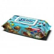 Skippy Aqua влажные салфетки для детей, 80 шт