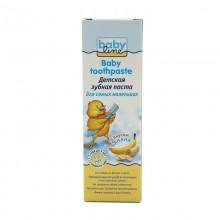 Babyline Детская зубная паста со вкусом банана, 75 мл