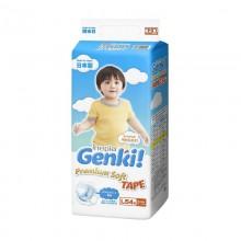 Genki подгузники Premium Soft L (9-14 кг) 54 шт.