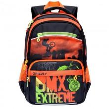Grizzly, Школьный рюкзак для мальчика BMX Extreme RB-964-3