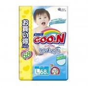 Goo.N подгузники, размер L (9-14 кг) 68 шт