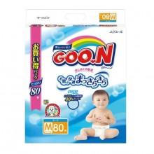 GooN подгузники, размер M (6-11 кг) 80 шт