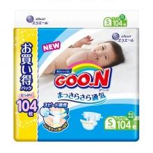 Goo.N подгузники, размер S (4-8 кг) 104 шт