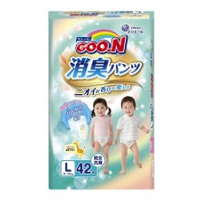 GooN, Aromagic трусики L (9-14 кг), 42 шт