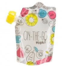 Дой-пак Happy Baby для хранения детского питания 5 штук
