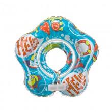 Музыкальный круг для плавания Happy Baby Dolfy (Прозрачно-белый)