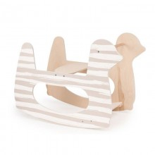 Подставка для колыбели Happy Baby Качалка Milly Swing 94001 (полоса)