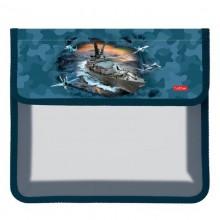 Hatber, Папка для тетрадей пластиковая, 1 отделение на липучке, А5, Special Force