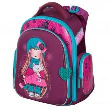 Hummingbird ранец для девочки, Девочка с кошкой, TK39