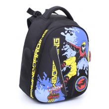 Hummingbird ранец для мальчиков, Сноубордист, T101