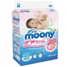 Moony, подгузники M (6-11 кг), 62 шт