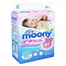 Moony, подгузники S (4-8 кг), 81 шт