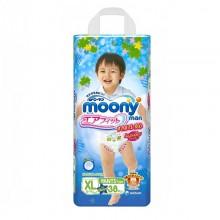 Moony трусики Man для мальчиков XL (12-17 кг) 38 шт.