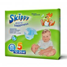 Skippy More Happiness подгузники для детей, размер XL (12-25 кг) 60 шт