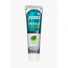 Dental Clinic 2080 K Антибактериальная зубная паста Кей голубая с гинкго билоба Herbal Mint, 100 г