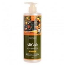 Deoproce Шампунь для волос с аргановым маслом Argan Silky Moisture Shampoo, 1000 мл