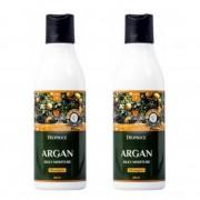 Deoproce Набор из 2-х шампуней для волос с аргановым маслом Argan Silky Moisture Shampoo, 200 мл х 2 шт