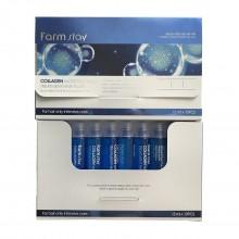 FarmStay, Увлажняющий филлер для волос c коллагеном, 13 мл, 10 шт