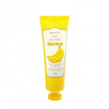 Farmstay Крем для рук с экстрактом банана I am Real Fruit Banana Hand Cream 100 мл