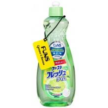 FUNS Жидкость для мытья посуды овощей и фруктов свежий лайм 600 мл