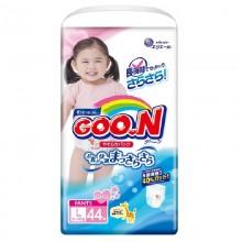 GooN, трусики для девочек L (9-14 кг), 44 шт