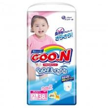 GooN, трусики для девочек BIG (12-20 кг), 38 шт