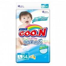 GooN, подгузники L (9-14 кг), 54 шт