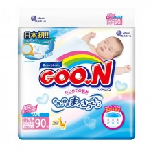 GooN, подгузники NB (до 5 кг), 90 шт