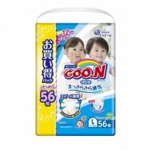 GooN трусики универсальные, размер L (9-14 кг) 56 шт
