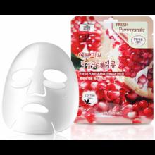 3W Clinic Освежающая тканевая маска для лица с гранатом, 1 шт