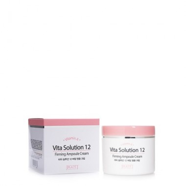 JIGOTT Омолаживающий ампульный крем для лица Vita Solution 12 Firming Ampoule Cream, 100 мл