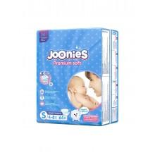 Joonies Подгузники, размер S(4-8 кг), 64 шт.
