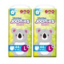 JOONIES Подгузники-трусики Comfort, размер L (9-14 кг), 44 шт. 2 шт