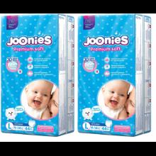 JOONIES Подгузники-трусики, размер L (9-14 кг), 44 шт. 2 шт