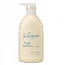 KAO Merit Кондиционер для волос Floral с разглаживающим эффектом, 480 мл
