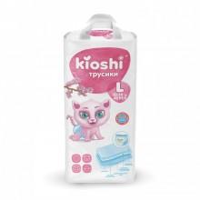 KIOSHI трусики L (10-14 кг), 42 шт.