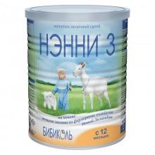 НЭННИ 3 Смесь с пребиотиками, с 12 месяцев, 400 гр