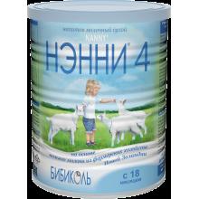 НЭННИ 4 Смесь с пребиотиками, с 18 месяцев, 800 гр