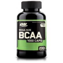 Аминокислоты Optimum Nutrition BCAA 1000, 200 капсул