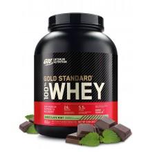 Протеин Optimum Nutrition 100% Whey Gold Standard 2240 г, шоколад-ментол