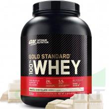 Протеин Optimum Nutrition 100% Whey Gold Standard (2270 г) белый шоколад