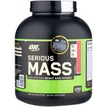 Гейнер Optimum Nutrition Serious Mass (2.72 кг) шоколад и арахисовое масло