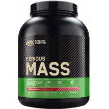 Гейнер Optimum Nutrition Serious Mass (2.72 кг) клубника