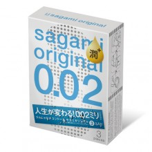 Презервативы Sagami Original 002 EXTRA LUB, 3 шт