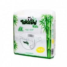 Подгузники для детей бамбуковые Takeshi Kid's NB (0-5 кг) 82 шт