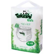 Подгузники-трусики для детей бамбуковые Takeshi Kid's М (6-11 кг) 48 шт 1/4