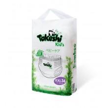 Подгузники-трусики для детей бамбуковые Takeshi Kid's ХXL (15-28 кг) 36 шт 1/4