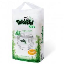 Подгузники-трусики для детей бамбуковые Takeshi Kid's XL (12-22 кг) 38 шт