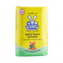 Ушастый нянь крем-мыло (брикет) с алоэ 90 гр.