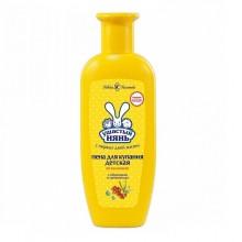 Ушастый нянь пена для ванн витаминная (экстракт облепихи и пантенол) 250 мл.